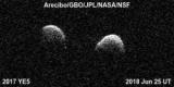 Відкритий раніше астероїд виявився рідкісним подвійним об'єктом